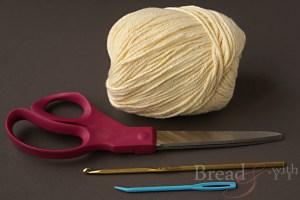 como fazer flores de croche simples passo a passo material