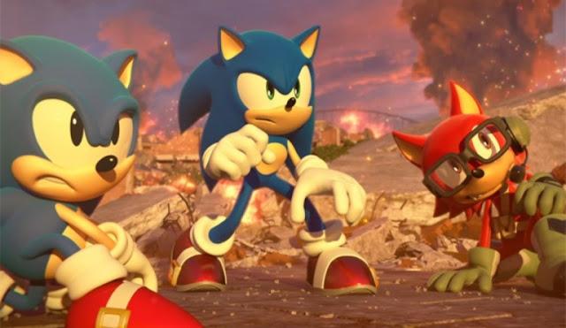 الإعلان عن ديمو للعبة Sonic Forces باليابان لأجهزة PS4 و Switch