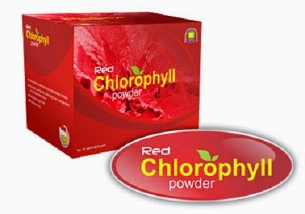 Red Chlorophyll NASA
