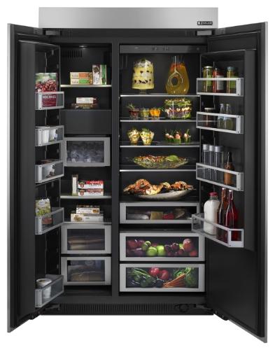 Tủ lạnh Side by Side Jenn-Air 48-inch nội thất sang trọng