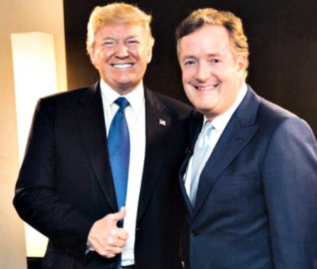 'Sometimes I tweet while in bed' - President Trump tells Piers Morgan