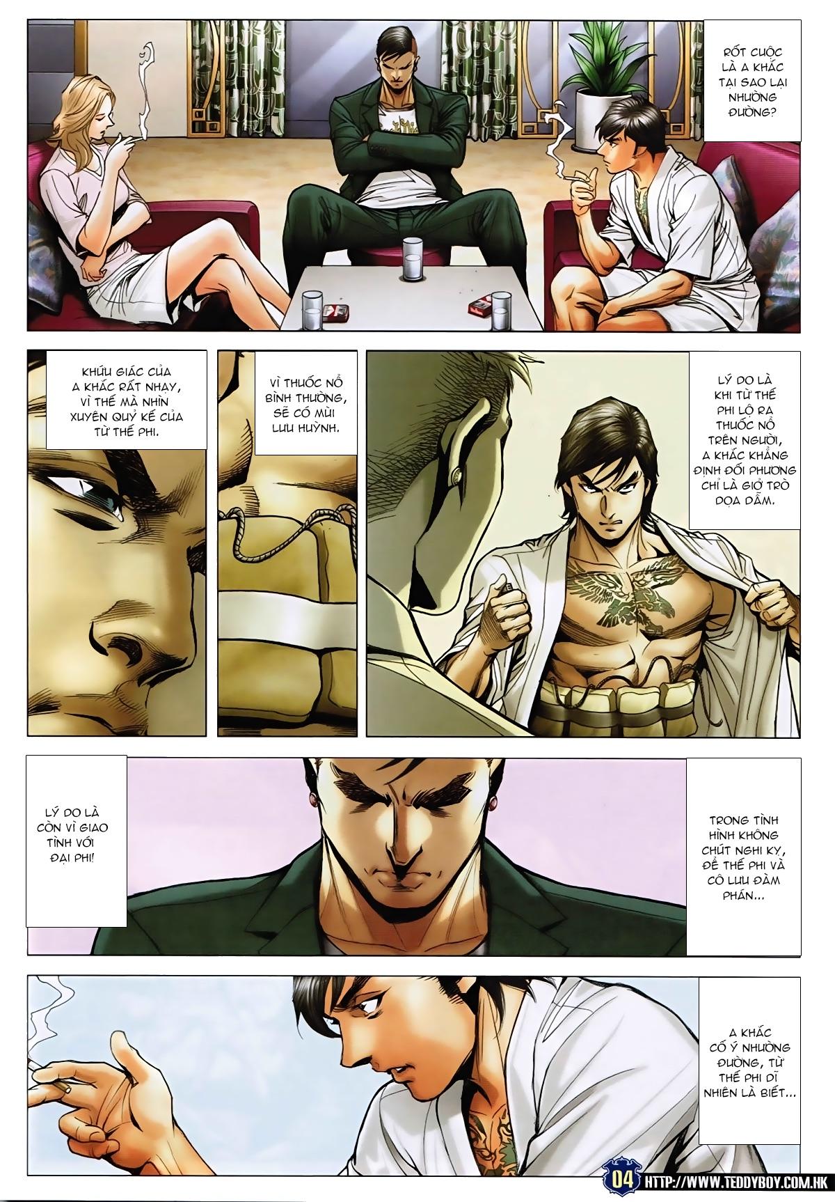 Người Trong Giang Hồ - Chapter 1588: Kẹp nát bi - Pic 3