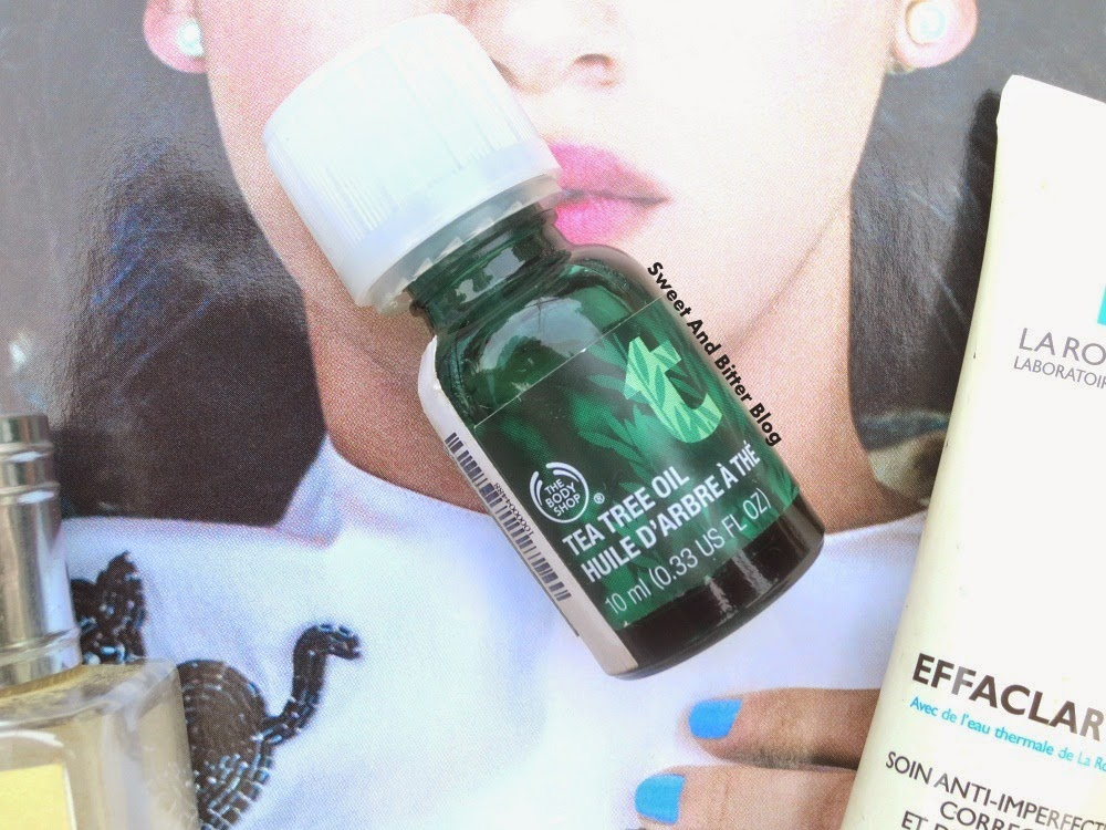The Body Shop Tea Tree Oil for Acne Treatment