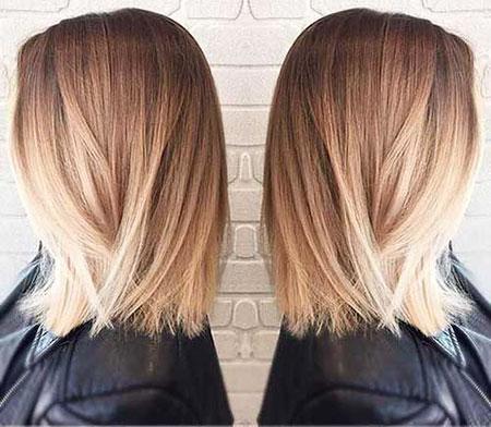 blonde ombre medium hair