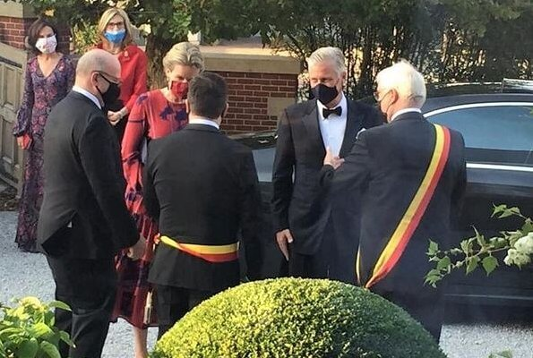 King Philippe and Queen Mathilde attended the gala evening of the King Baudouin Foundation held as a charity event at the restaurant Boury