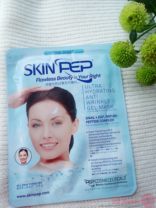 SkinPep Ultra Hydrating Anti Wrinkle Gel Mask