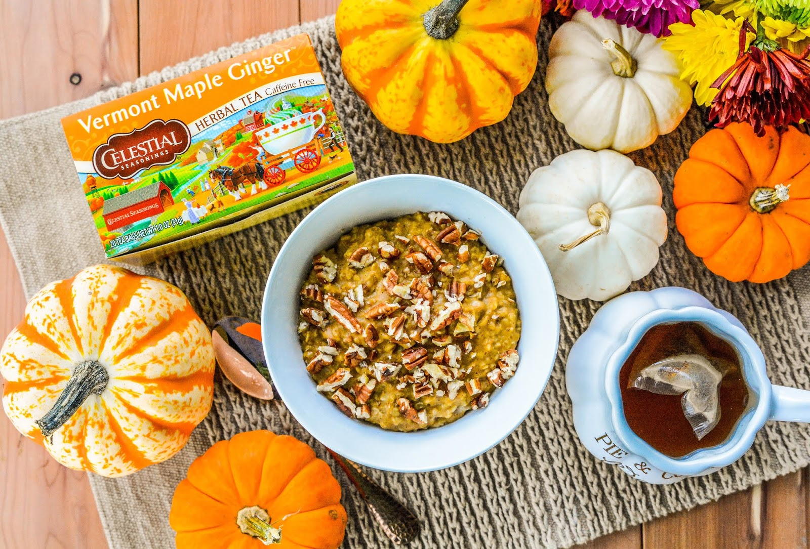 Steel Cut Pumpkin Oatmeal