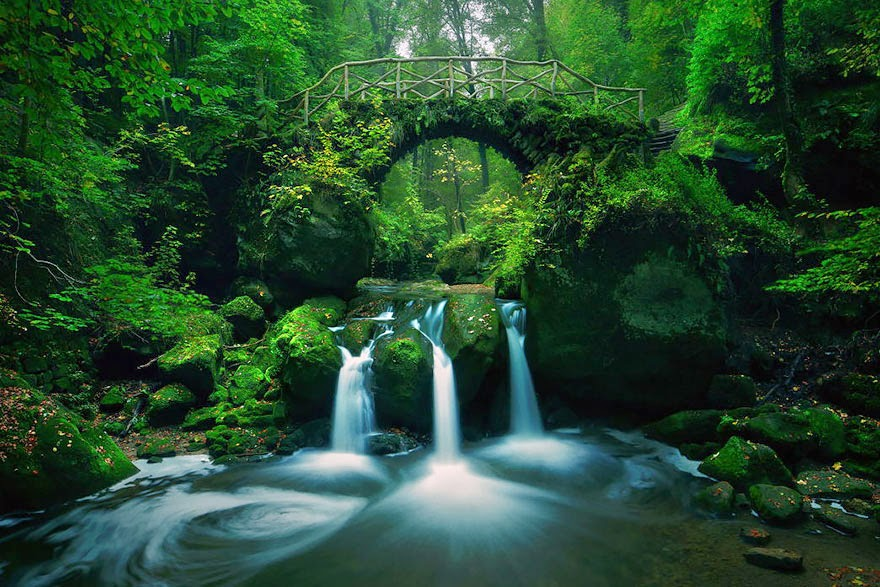 ullerthal, Luxembourg - 20 Mystical Bridges That Will Take You To Another World