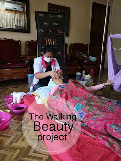 the walking beauty