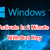 Window 10 Ko Activate Kaise Kare: Without Production Key
