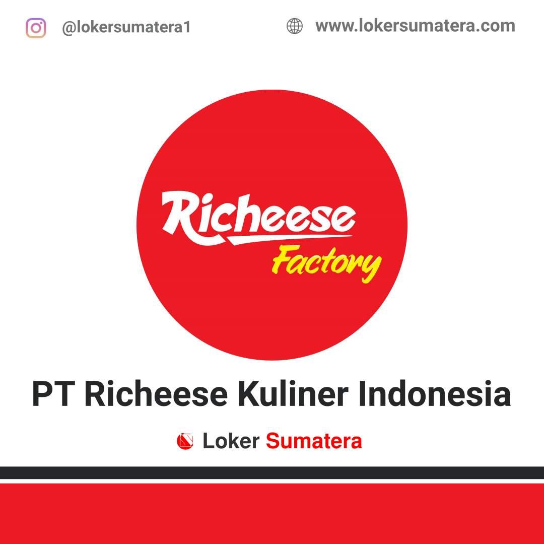 Lowongan Kerja Bengkulu: PT Richeese Kuliner Indonesia (Richeese Factory) September 2020