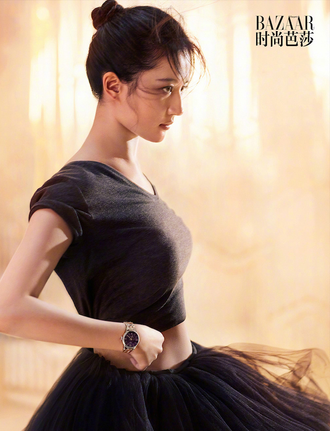 Liu Yiifei Harper's Bazaar, Crystal Liu Harper's Bazaar, Crystal Liu 2018, Liu YiFei Mulan, Crystal Liu Mulan