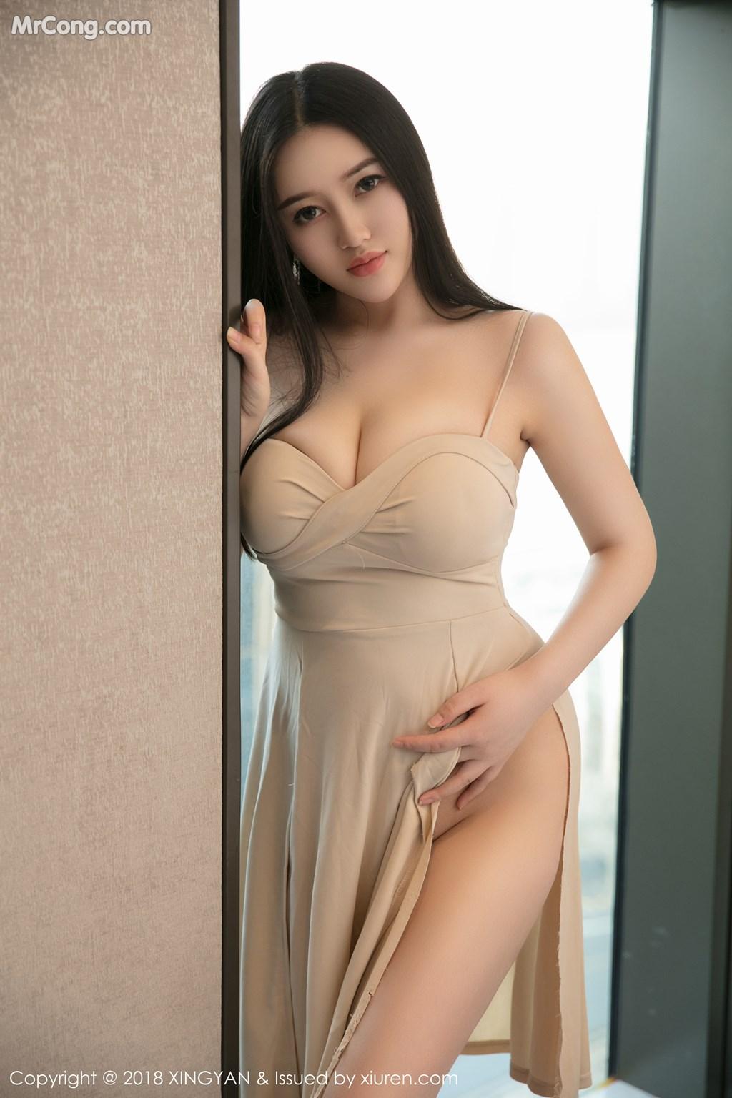 Image XingYan-Vol.031-En-Yi-MrCong.com-001 in post XingYan Vol.031: Người mẫu En Yi (恩一) (43 ảnh)