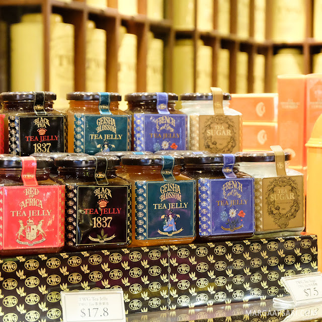 TWG Tea Boutique Changi Airport, Singapura