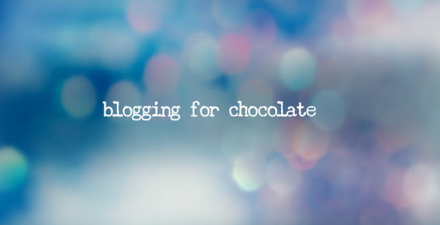 blogging for chocolate