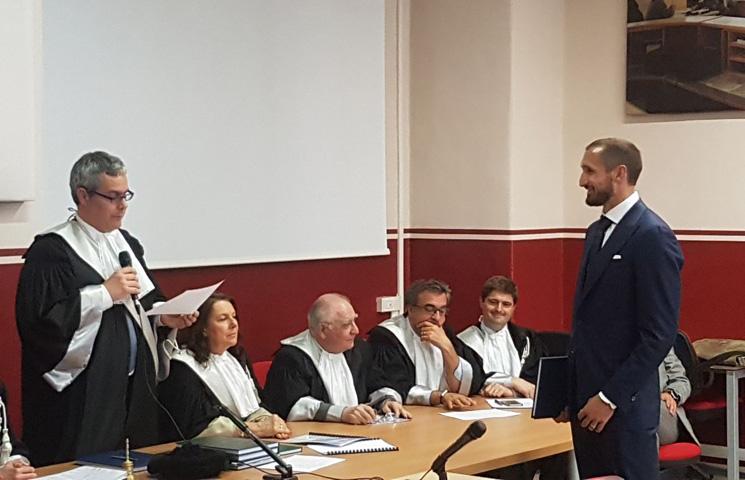 Chiellini stekao diplomu Mastera Poslovne ekonomije