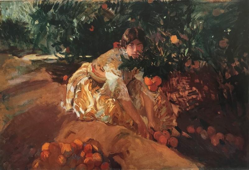 Valenciana. Joaquín Sorolla, 1908 - El Blog de la Tabla -  Exposición 32 obras fondos Museo Nacional La Habana Cuba