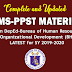 RPMS Latest Materials (COMPLETE) SY 2019-2020