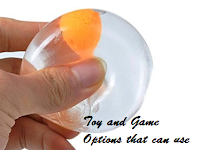 Toy and Game Options that can use to Relieve stress