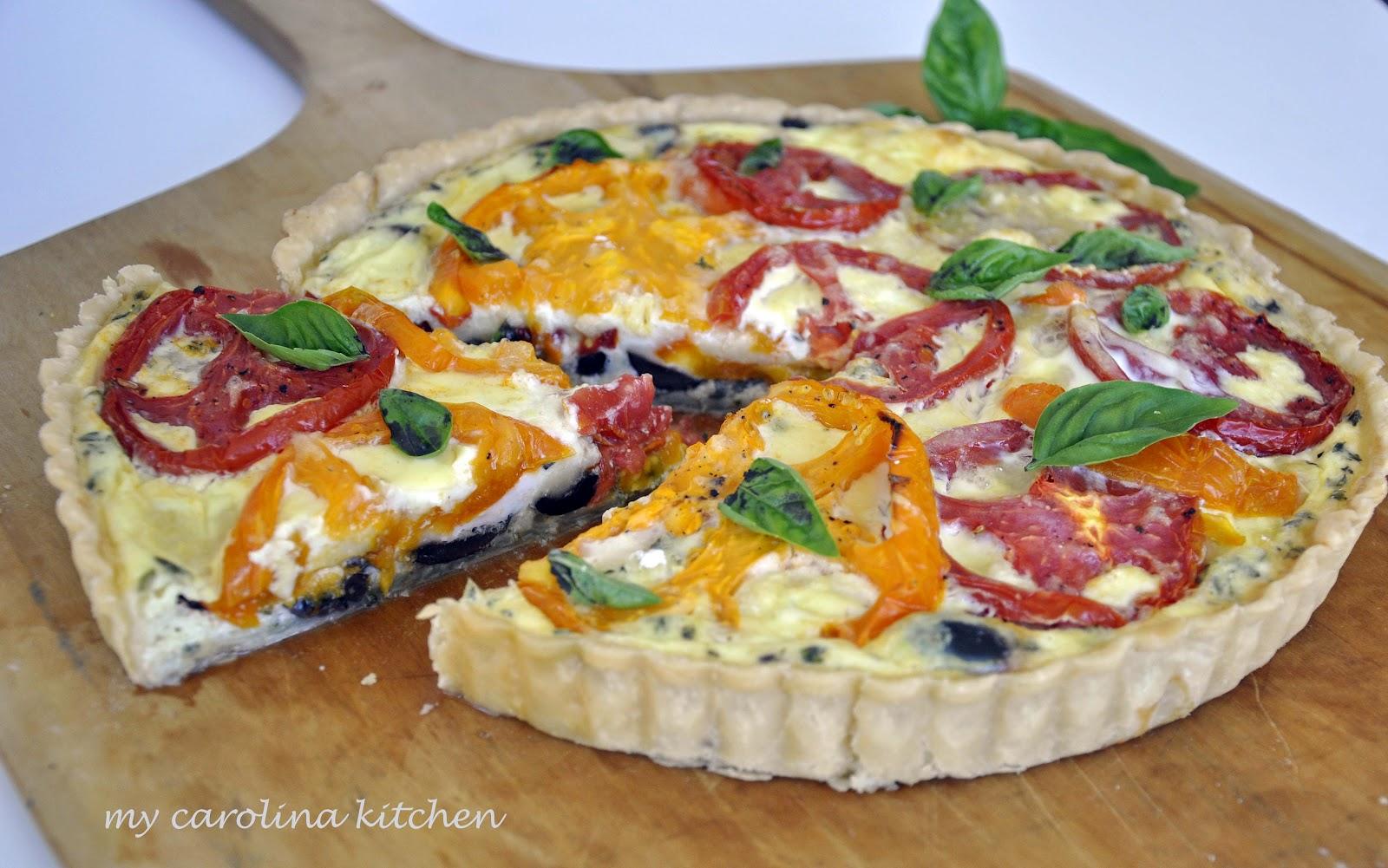 Test Kitchen Tomato Tart