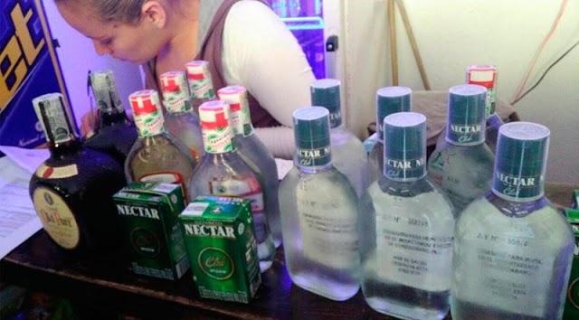 Cierre de establecimiento por licor adulterado en Facatativá