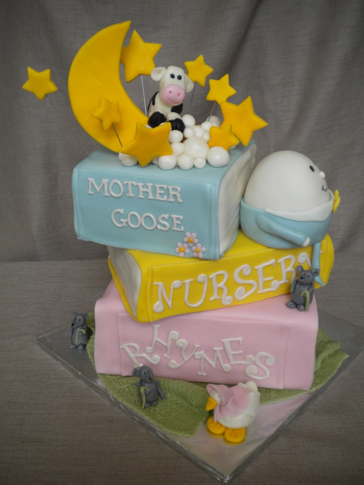 Flour Girl Designs Nursery Rhymes Baby Shower