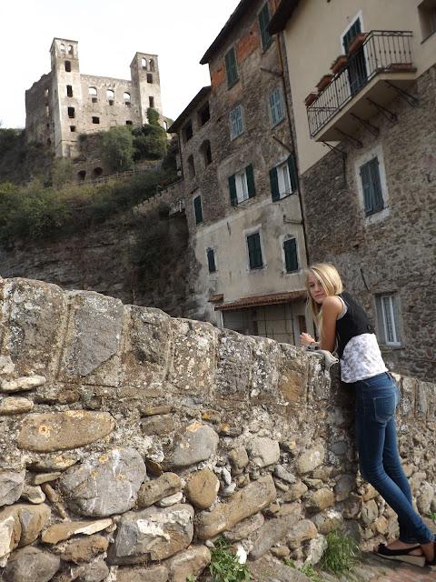 Italie, Dolceacqua, ballade autour de Nice, chateau doria