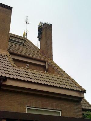 Entubado de la chimenea de obra que no es estanca y pierde for Chimeneas de obra sin humo