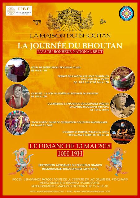 Journée du Bhoutan 2018.
