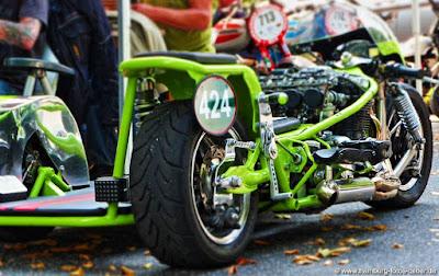 Stadtpark Revival Hamburg Motorrad