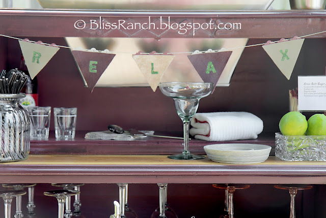 Dresser Turned Portable Bar, Bliss-Ranch.com