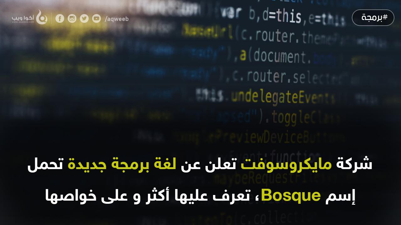 مايكروسوفت تعلن عن لغة برمجة جديدة خاصة بها ... فما هي ؟