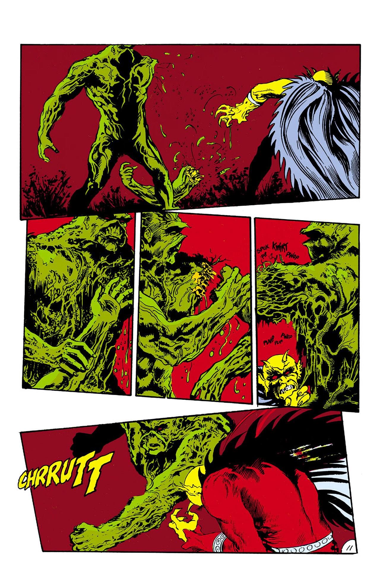 Swamp Thing (1982) Issue #27 #35 - English 11