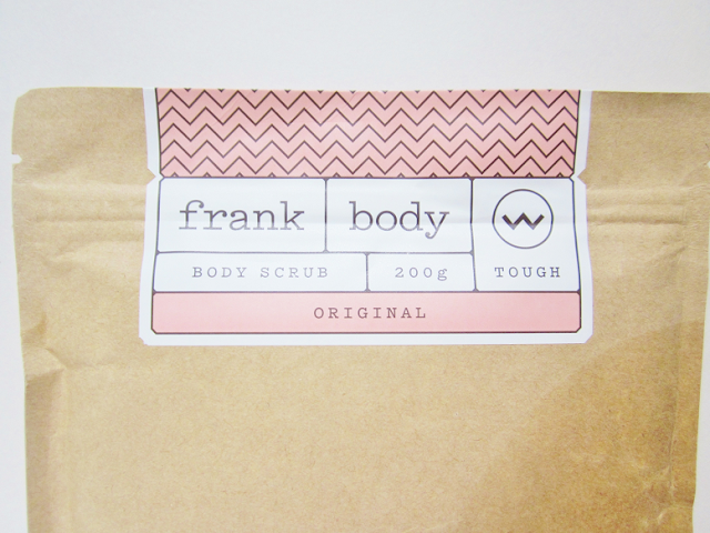 Frank Body Original Body Scrub Beauty Review