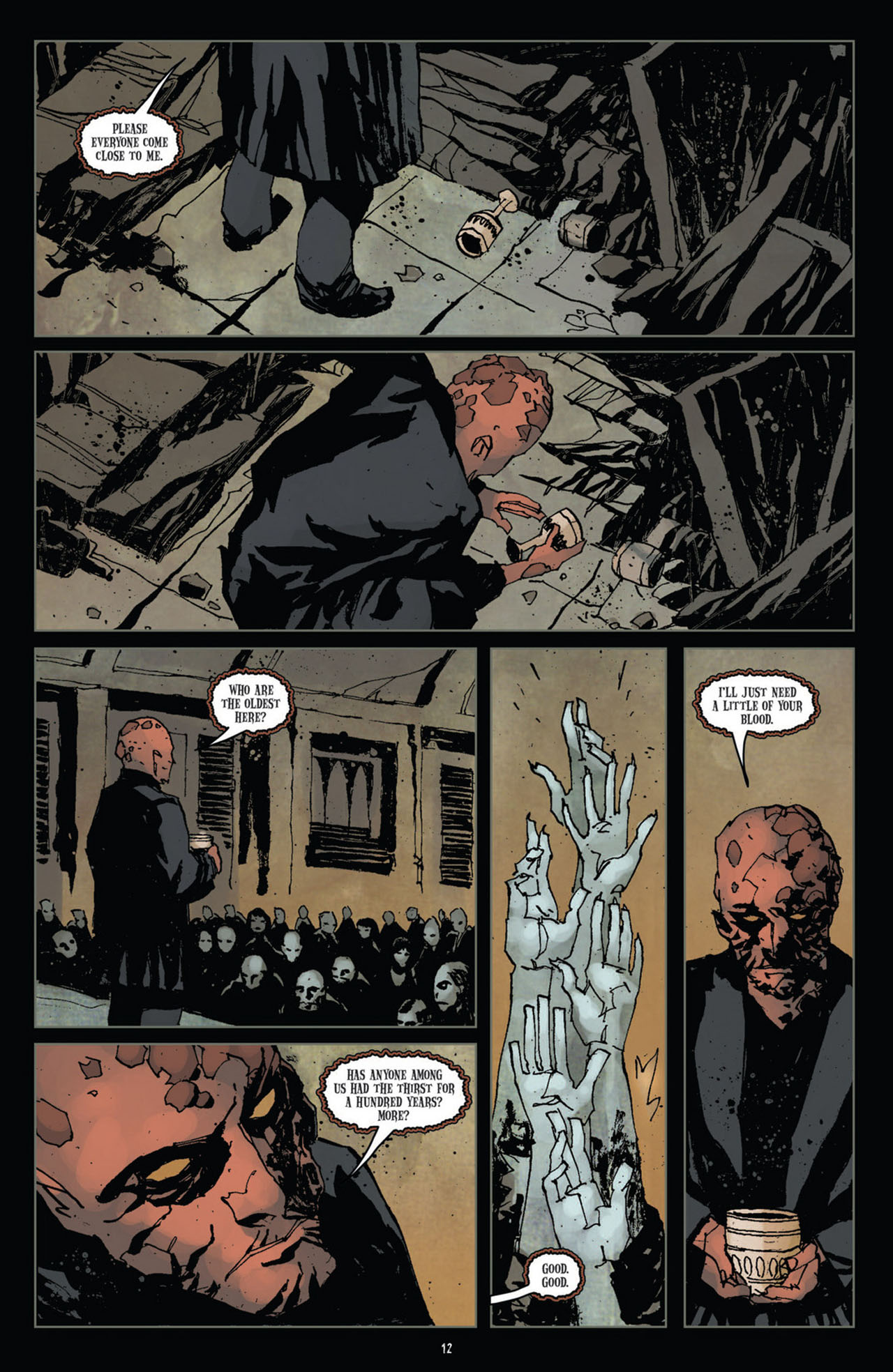 Read online 30 Days of Night (2011) comic -  Issue #10 - 13