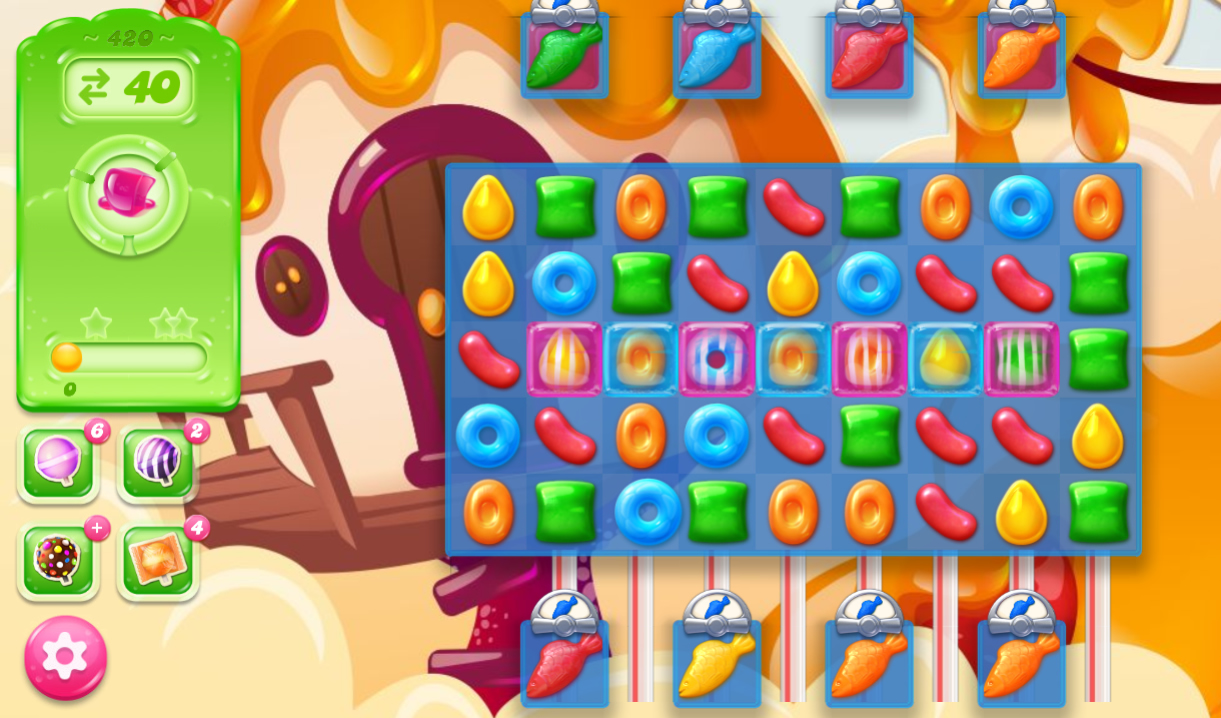 Candy Crush Jelly Saga 420