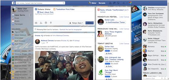 Cara Mudah Mengubah Background Facebook Dengan Foto Sendiri
