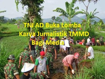 Yuk Ikut Lomba Karya Jurnalistik TMMD
