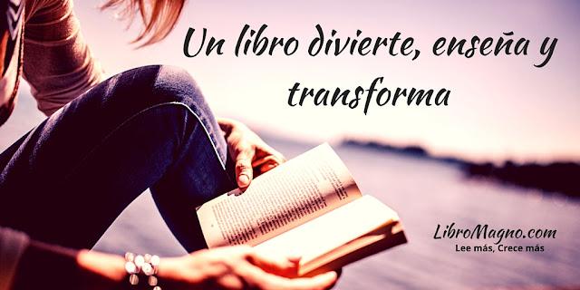 LibroMagno.com: Un libro divierte, enseña y transforma