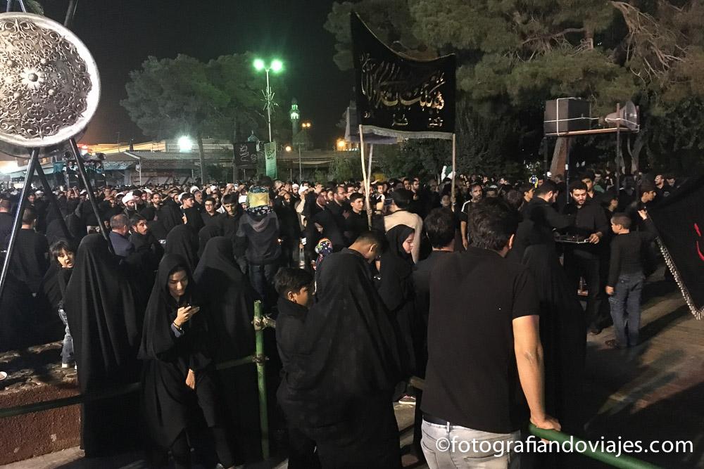 Fiesta de la Ashura en Qom, Irán