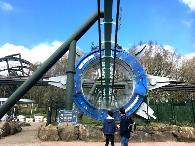 Alton Towers Galatica Ride