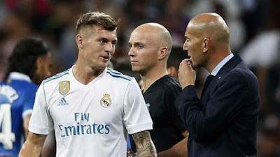 """Toni Kroos: """"Zidane sabe que siempre puede contar conmigo"""""""