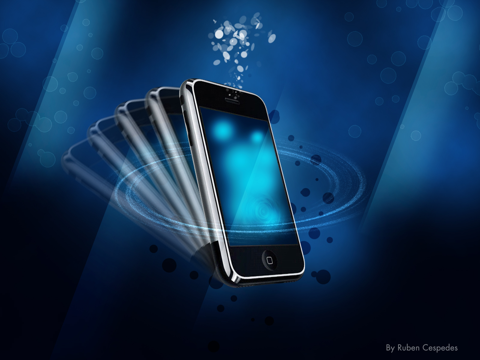 HD WALLPAPERS: Lovely Iphone Cells