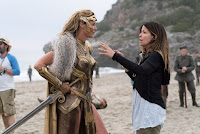 Connie Nielsen and Patty Jenkins on the set of Wonder Woman (2017) (12)