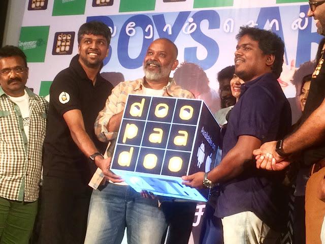 Chennai 28 Second Innings Audio launch Photos