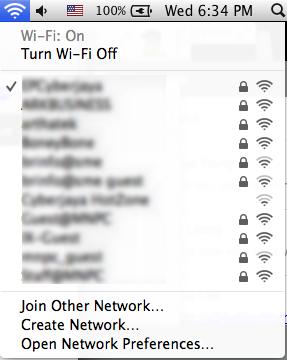Hidden Wifi utilities in Mac OSX Mavericks | Hanxue and IT