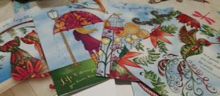 Inkspirations Greeting Card set! 1