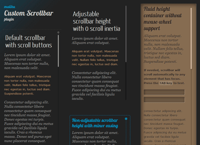 8 jquery custom scrollbar plugins example tutorials asp net c net vb net jquery javascript - Jquery scroll to div ...