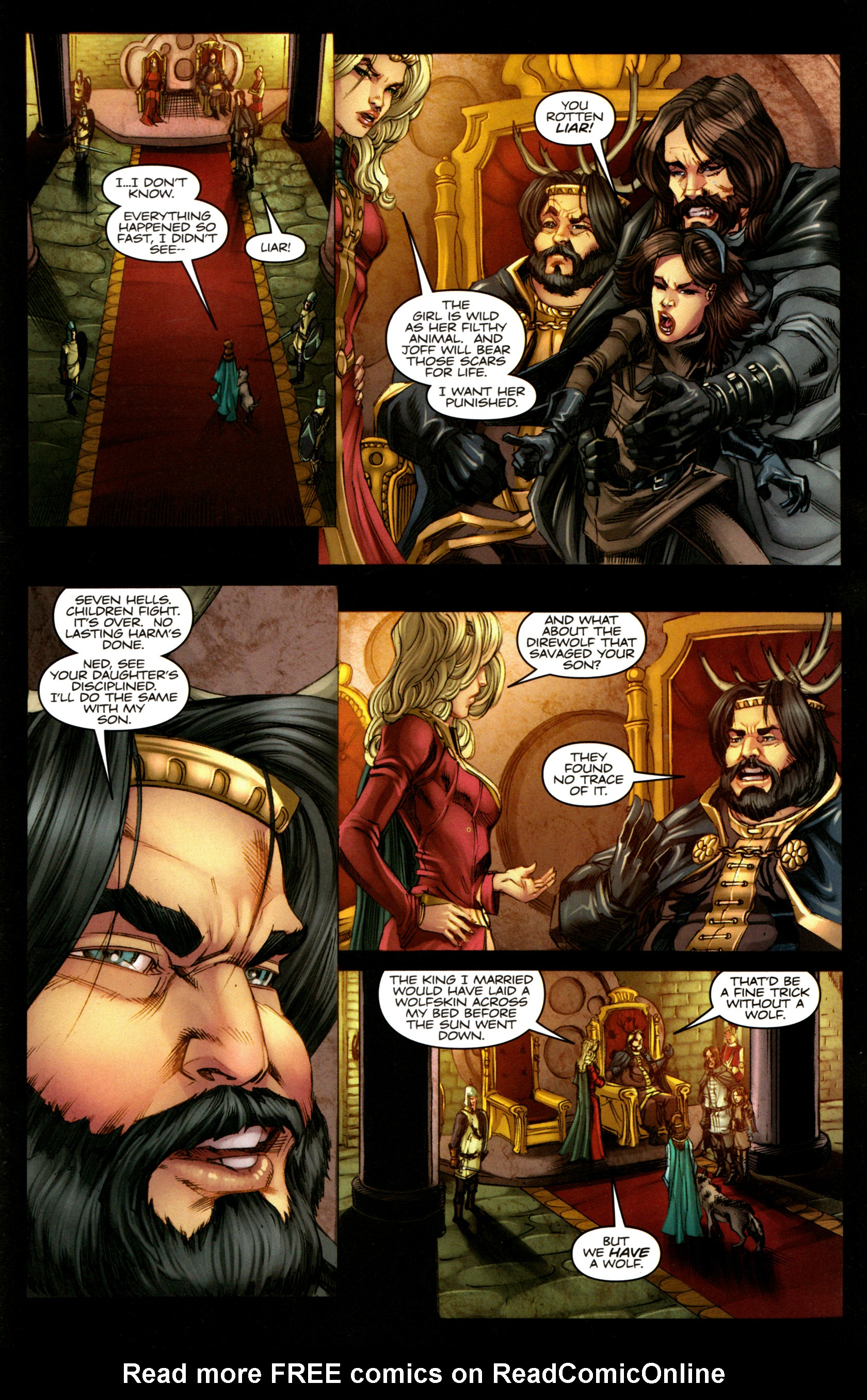 Read online A Game Of Thrones comic -  Issue #5 - 23