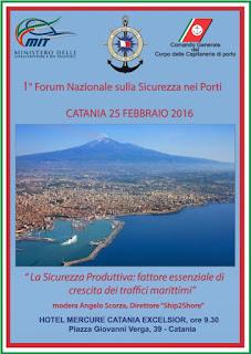 A Catania il Forum Nazionale sulla Sicurezza Produttiva